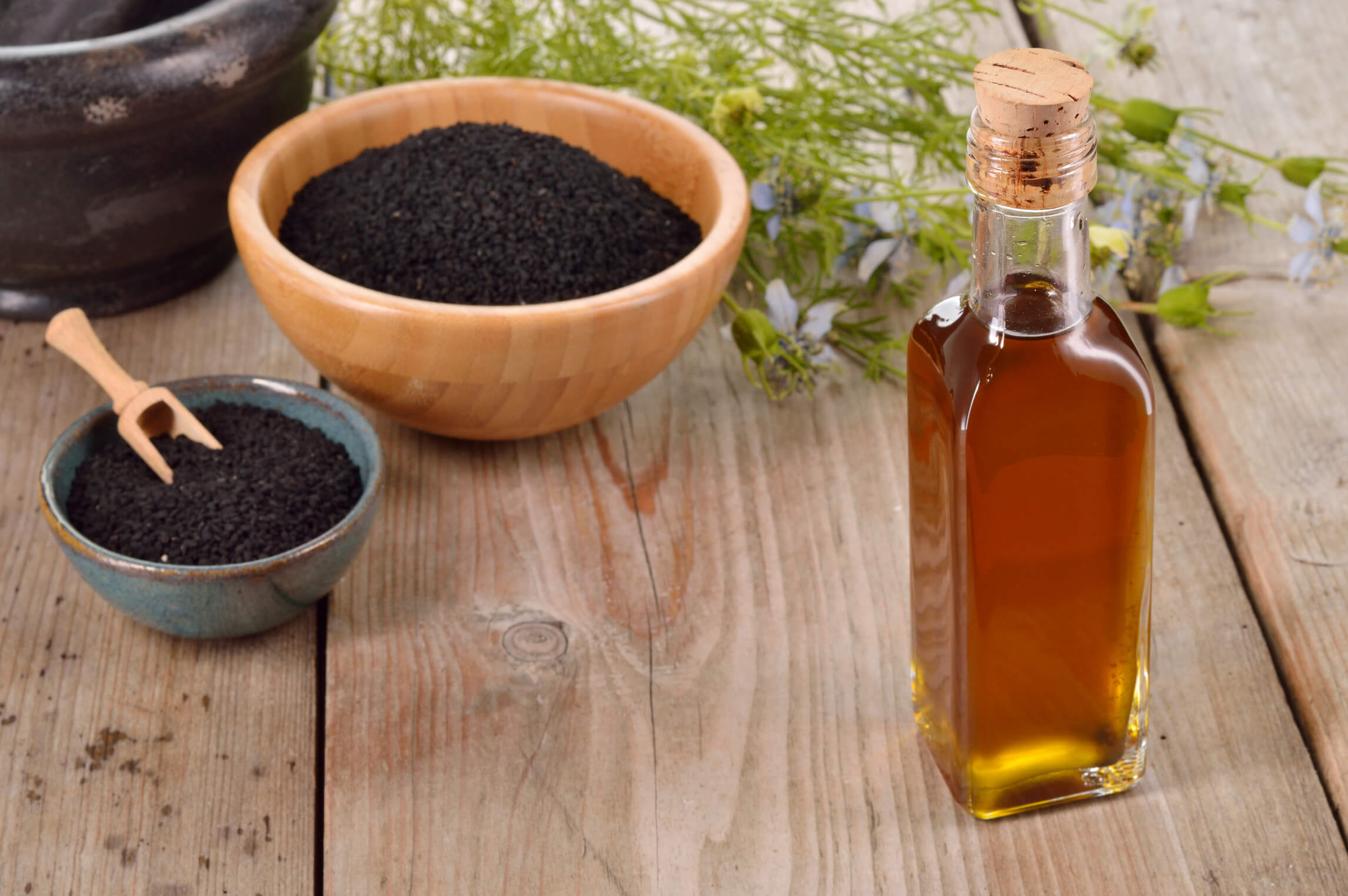 Nigella Sativa Cumin Seed Oil